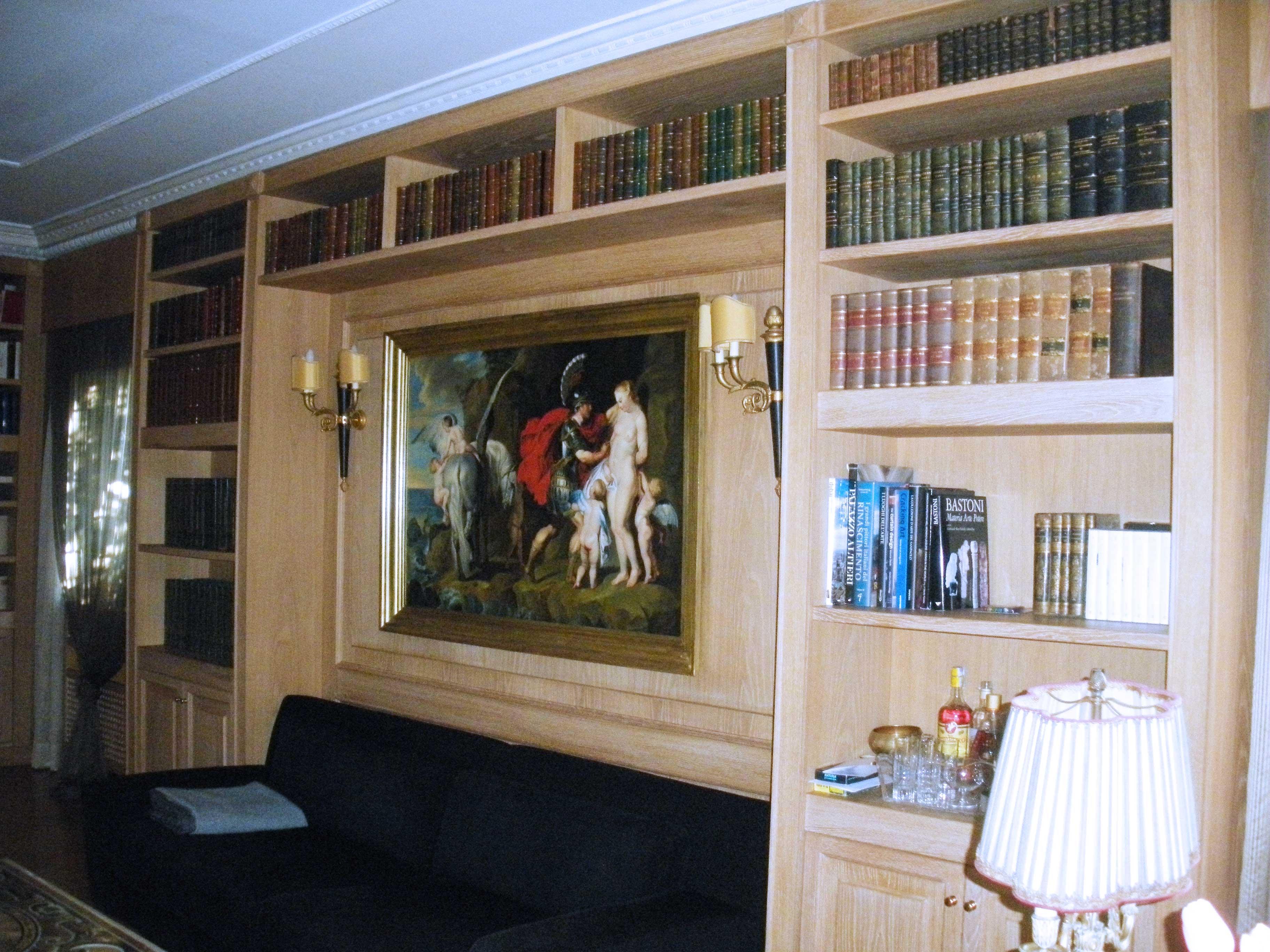 Librerie e boiserie