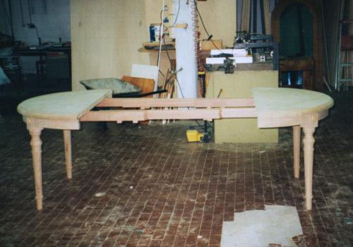 Tavolo allungabile in rovere
